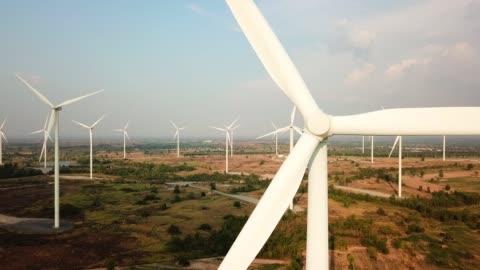 wind power technology - wind turbine stock videos & royalty-free footage