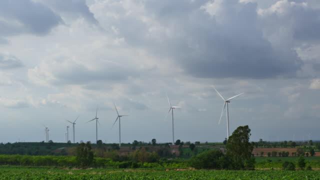 Windkraftturbine Elektrizität, Thailand.