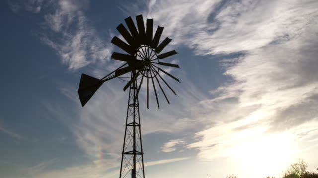 Wind pump on Somerset Levels