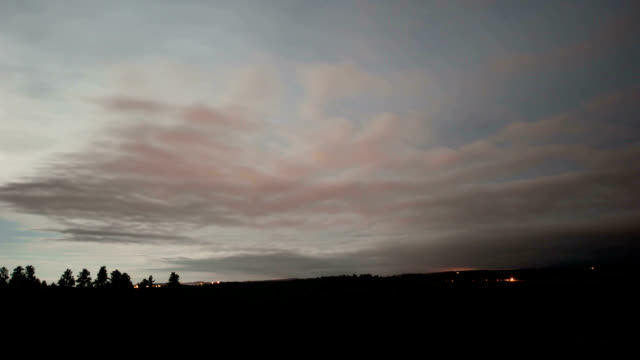 wind shear at night, timelapse - stratus stock videos & royalty-free footage