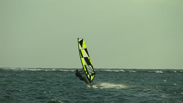 Wind Surfing at Mont Beach Mauritius