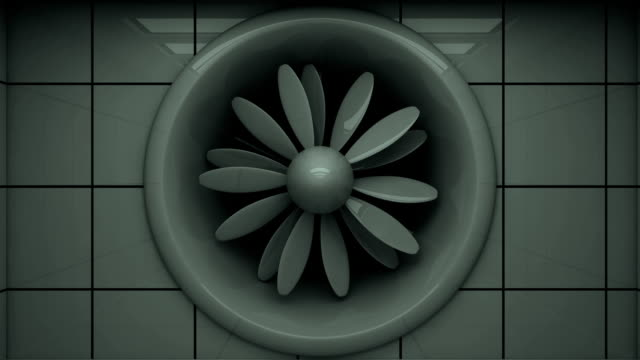 wind tunnel (hd, loop/cycle, alpha) - propeller stock videos & royalty-free footage