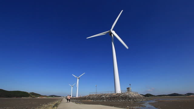 Wind turbin at Tandohang Port