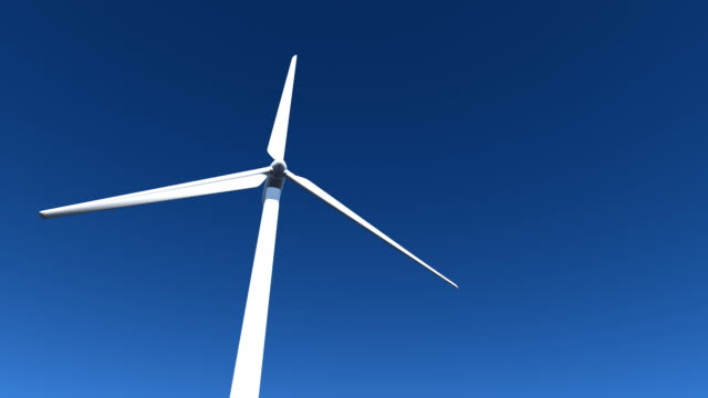 wind turbine a - matte image technique stock videos and b-roll footage