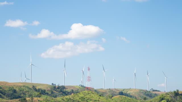 vídeos de stock e filmes b-roll de wind turbine blades. - mastro peça de embarcação