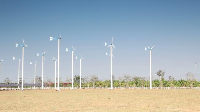 Turbine windpark