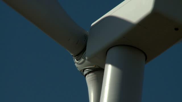 wind turbine generator hub - renewable energy stock videos & royalty-free footage