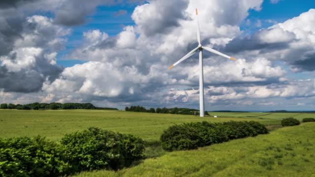 AERIAL: Wind Turbine / Industrial Windmill