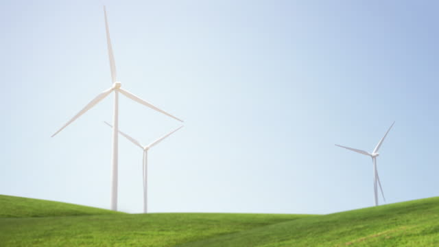 wind turbine - northern california stock videos & royalty-free footage
