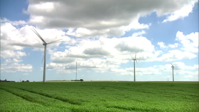 wind turbine - fuel and power generation stock videos & royalty-free footage