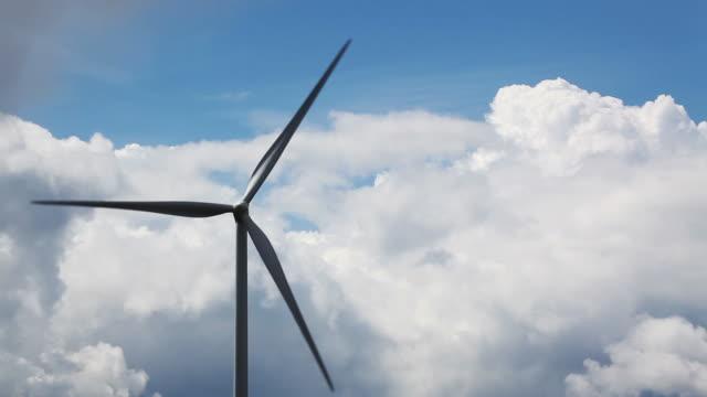 wind turbine - wind power stock videos & royalty-free footage