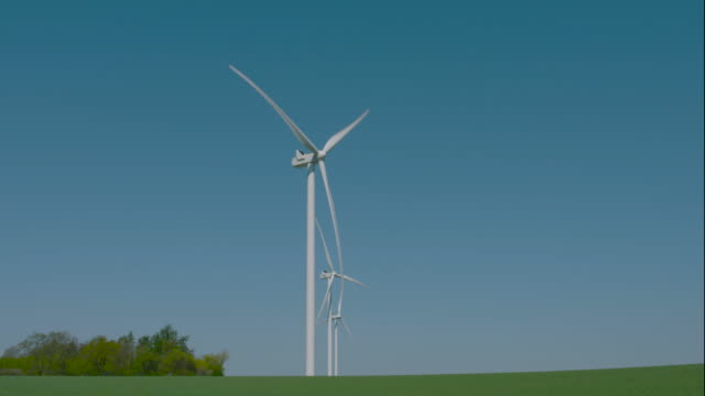 wind turbine - weather stock videos & royalty-free footage