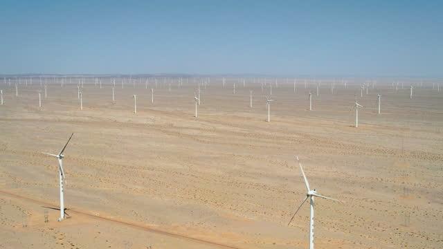 wind turbine, wind farm - turbine stock videos & royalty-free footage