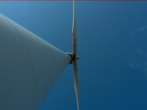 wind turbine zoom out - financial item stock videos & royalty-free footage