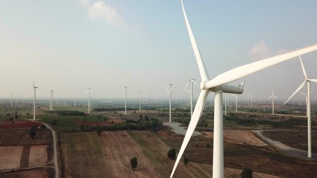 wind turbines create renewable energy - renewable energy stock videos & royalty-free footage
