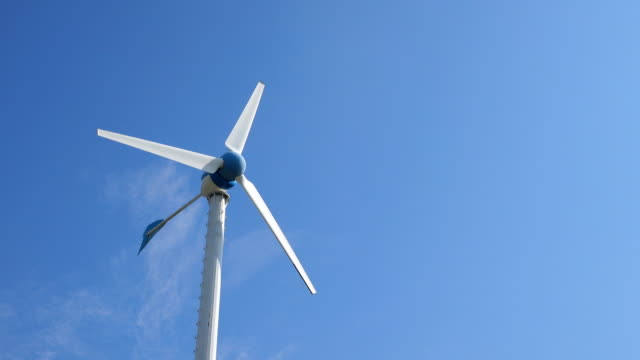 wind turbines farm, green energy concept - bugtiger stock videos and b-roll footage