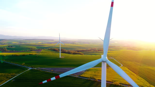 RENEWAL ENERGY - Wind Turbines In Agricultural Fields