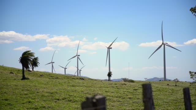 ds-windkraftanlagen in costa rica - costa rica stock-videos und b-roll-filmmaterial