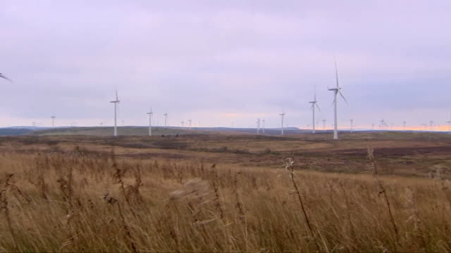 wind turbines in glasgow - power supply stock videos & royalty-free footage
