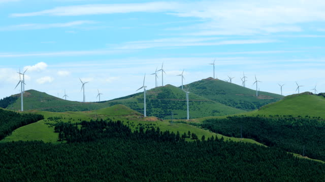 Windkraftanlagen in Berg
