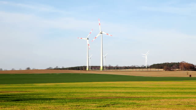 Wind Turbines in slowly rotating