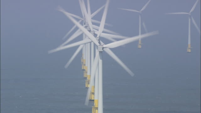 Wind Turbines Off Great Yarmouth
