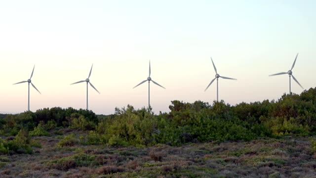 HD: Windturbines Forrest