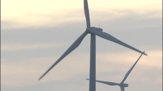 wind turbines operate at the klondike wind farm. - klondike stock videos and b-roll footage