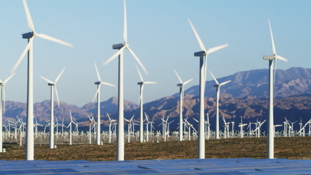 MS Wind turbines / Palm Springs, California