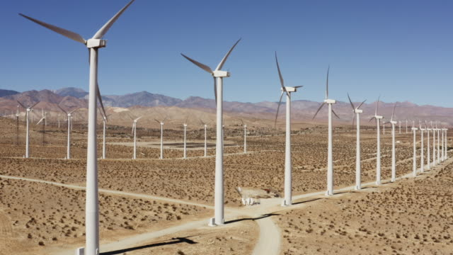TS, WS Wind turbines / Palm Springs, California