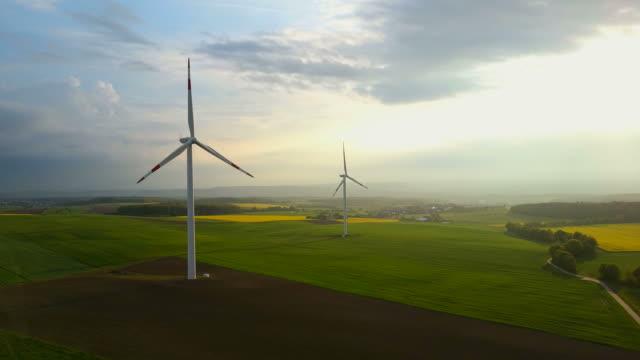 wind turbines, Saargau, Rhineland-Palatinate, Germany