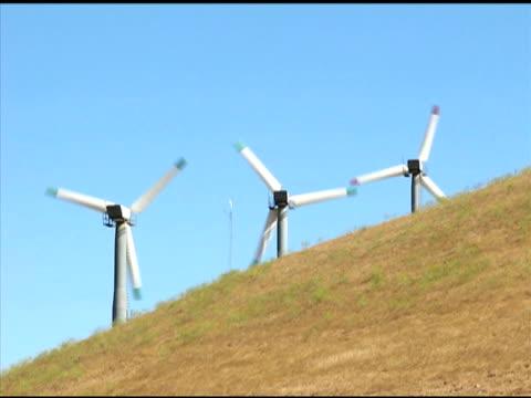 stockvideo's en b-roll-footage met wind turbines (ntsc) - kleine groep dingen