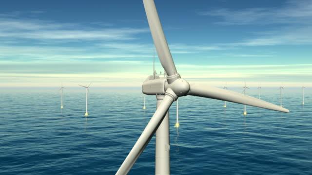 windturbinen - turbine stock-videos und b-roll-filmmaterial
