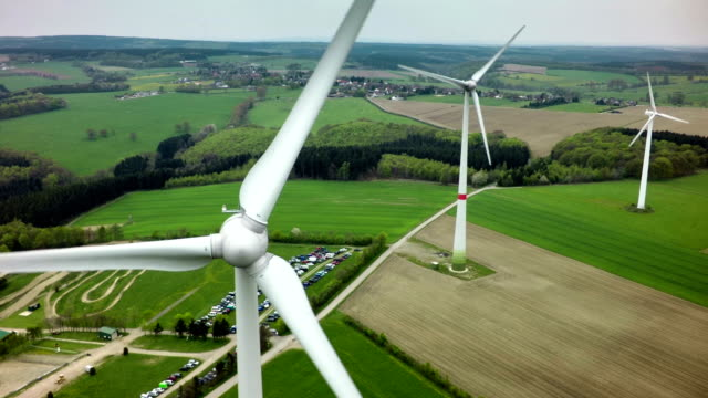 wind turbines - wind turbine stock videos & royalty-free footage