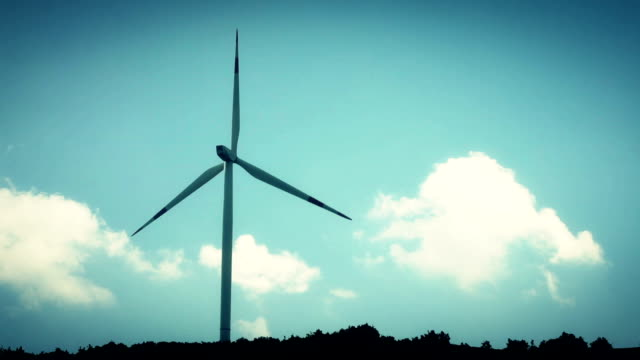 wind turbines - built structure stock videos & royalty-free footage