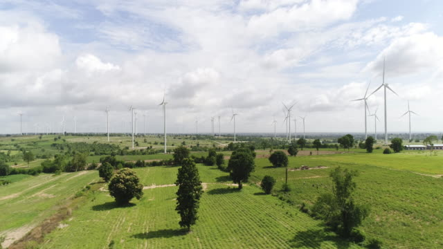 wind turbines - mill stock videos and b-roll footage