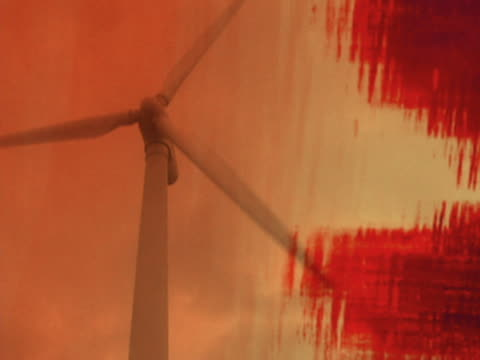 wind turbines - medium group of objects stock videos & royalty-free footage