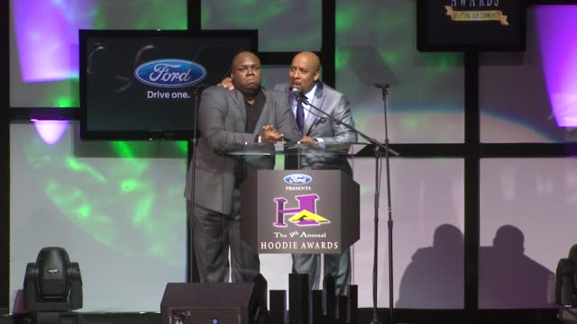 windell middlebrooks nephew tommy at the 9th annual hoodie awards hosted by steve harvey at las vegas nv - nephew stock videos and b-roll footage