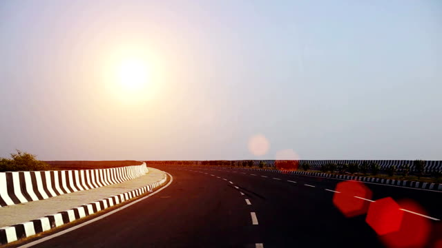 winding highway road, india - main road stock videos & royalty-free footage