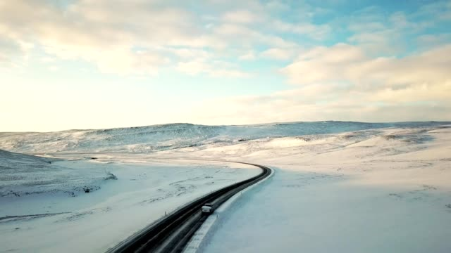 winding road in iceland - winding road stock videos & royalty-free footage