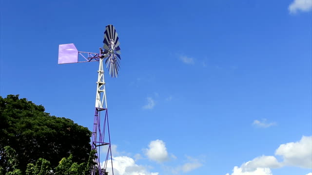 windmill electric power at thailand - alternative energy stock videos and b-roll footage