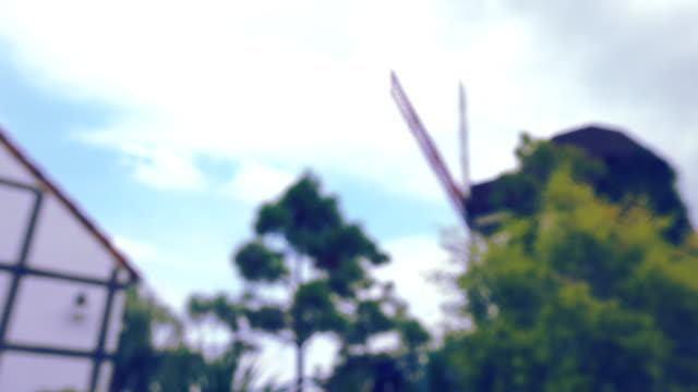 windmill in the farm