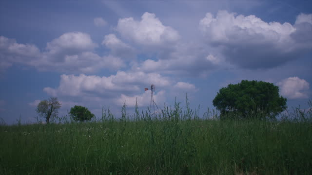 windmill timelapse - tennessee stock videos & royalty-free footage