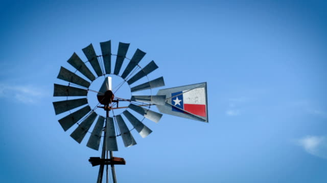 stockvideo's en b-roll-footage met windmolen - texas
