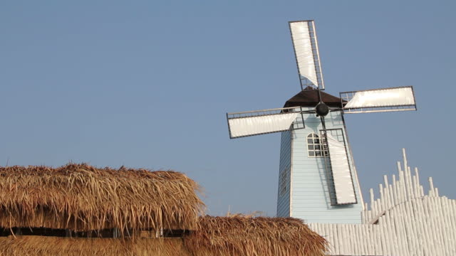 windmill - mill stock videos & royalty-free footage