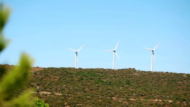 Windmills at the horizon