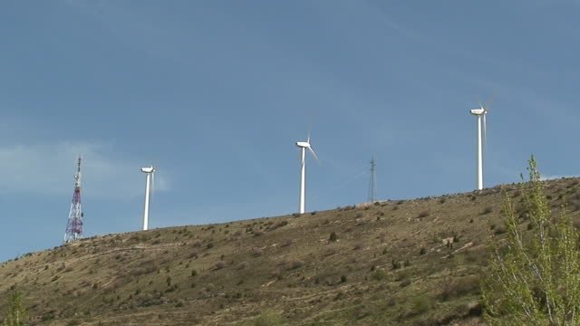windmills in the trip - shaking stock videos & royalty-free footage