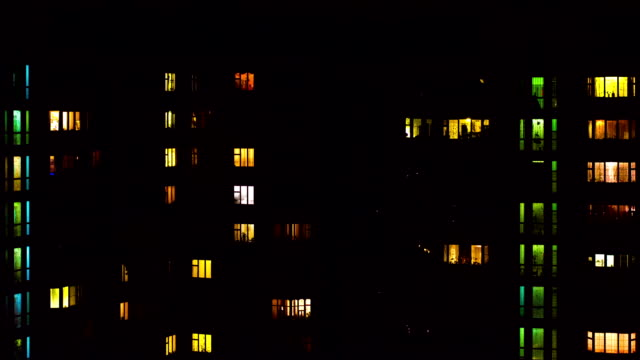window apartment - building exterior stock videos & royalty-free footage