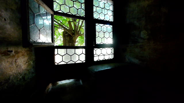 window in medieval castle - gothic stock videos & royalty-free footage