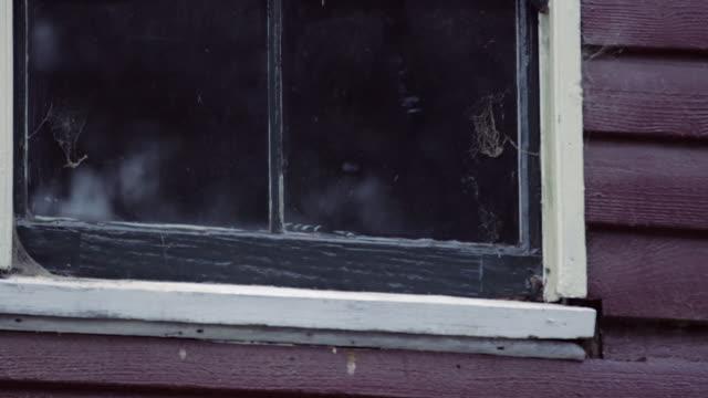 vídeos y material grabado en eventos de stock de window of a house shot - contraventana